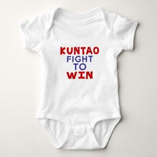 KUNTAO FIGHT TO WIN BABY BODYSUIT