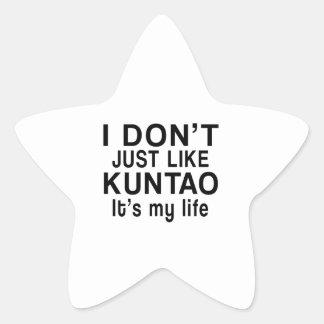 KUNTAO IS MY LIFE STAR STICKER