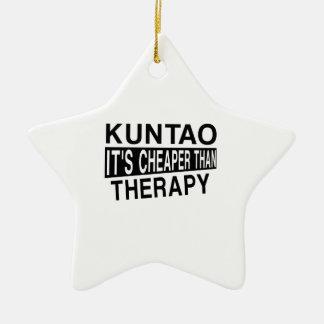 KUNTAO IT'S CHEAPER THAN THERAPY CERAMIC ORNAMENT