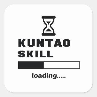 Kuntao skill Loading...... Square Sticker