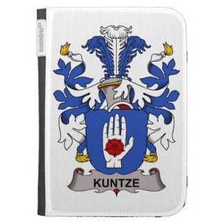 Kuntze Family Crest Kindle Cases