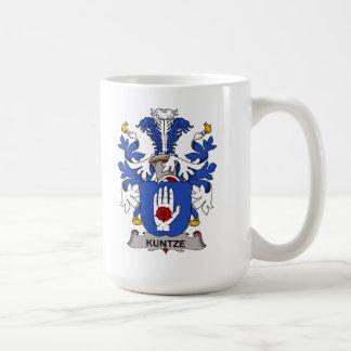 Kuntze Family Crest Classic White Coffee Mug