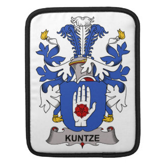 Kuntze Family Crest Sleeve For iPads