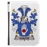 Kuntze Family Crest Kindle Cases