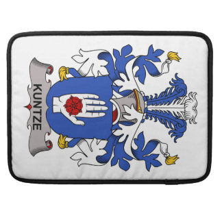 Kuntze Family Crest Sleeves For MacBook Pro