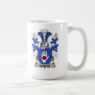 Kuntze Family Crest Mugs