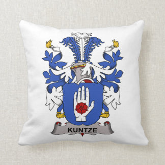 Kuntze Family Crest Pillows