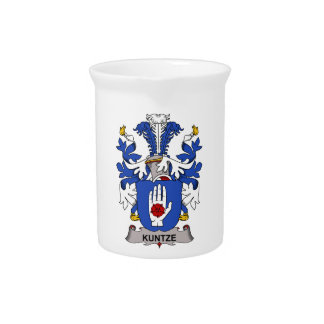 Kuntze Family Crest Beverage Pitcher