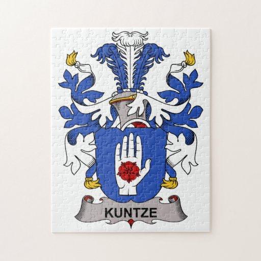 Kuntze Family Crest Puzzle