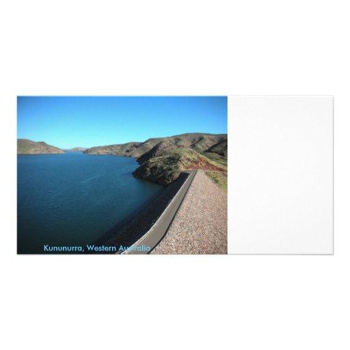 Kununurra, Western Australia Customized Photo Card