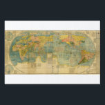 "Kunyu Wanguo Quantu 1602 Japanese World Map Lawn Sign<br><div class=""desc"">Kunyu Wanguo Quantu (Chinese: 坤輿萬國全圖; pinyin: Kūny&#250; W&#224;ngu&#243; Qu&#225;nt&#250;; literally &quot;A Map of the Myriad Countries of the World&quot;; Italian: Carta Geografica Completa di tutti i Regni del Mondo, &quot;Complete Geographical Map of all the Kingdoms of the World&quot;), printed in China at the request of the Wanli Emperor during 1602...</div>"