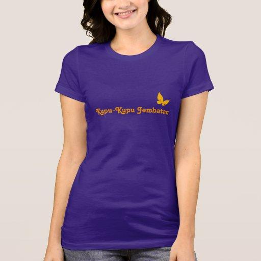Kupu-Kupu Jembatan Tee Shirts