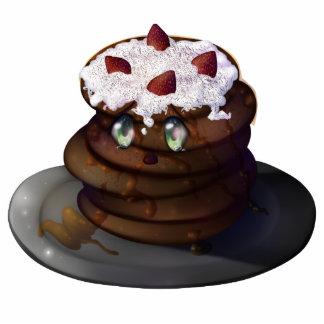 Kura Pancake Statuette