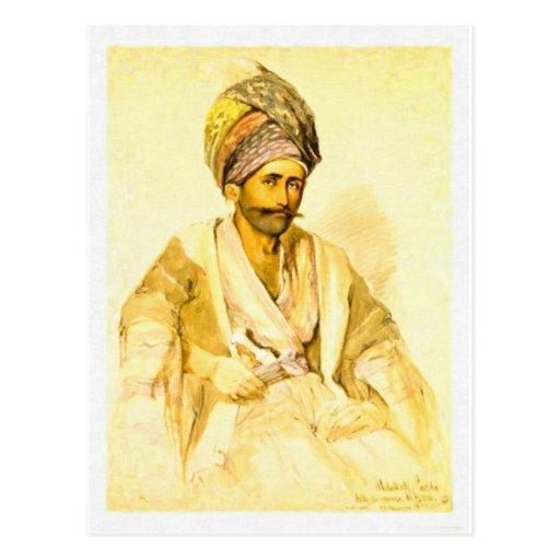 Kurd de Preziosi Abdullah de Bitlis 1852 Postal