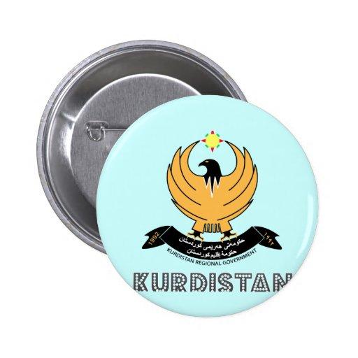 kurd Emblem Buttons