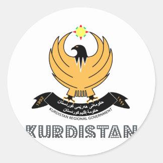 kurd Emblem Stickers