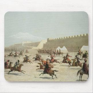 Kurdish and Tatar Warriors at Sadar Abbat, Armenia Mouse Pad