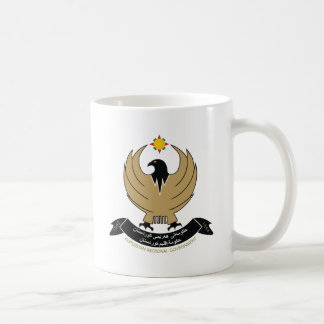 Kurdish COA Classic White Coffee Mug