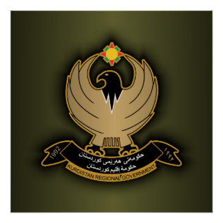 Kurdish Coat of Arms Posters