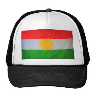 kurdish flag 2 trucker hat