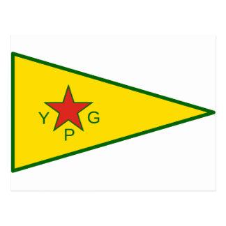 Kurdish Freedom Fighters Postcard