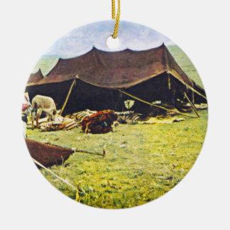 kurdish nomads 3 ceramic ornament