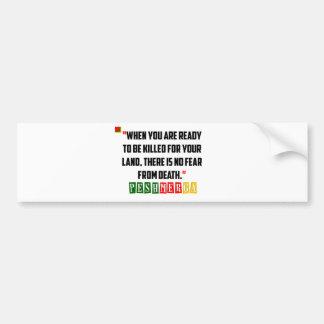 Kurdish Peshmerga Bravery Bumper Sticker