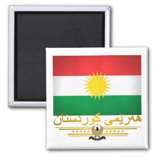"""""""Kurdish Pride 2"""" 2 Inch Square Magnet"""