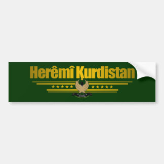 """Kurdish Pride"" Bumper Sticker"