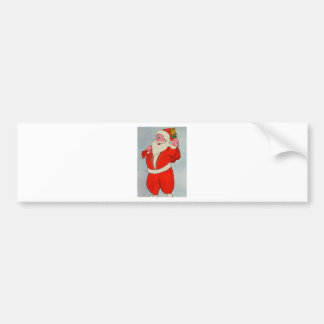 Kurdish Santa Bumper Sticker