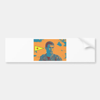 Kurdish YPG Fighter art 2 Bumper Sticker