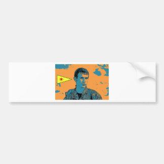 Kurdish YPG Fighter art 3 Bumper Sticker