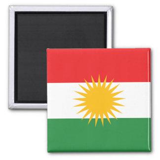 kurdistan 2 inch square magnet