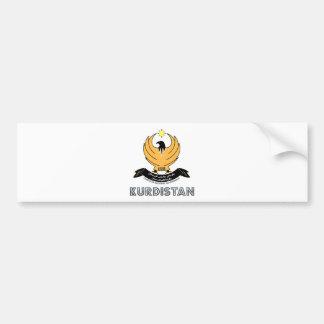 Kurdistan Coat of Arms Bumper Sticker