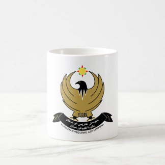 Kurdistan Coat of Arms Classic White Coffee Mug
