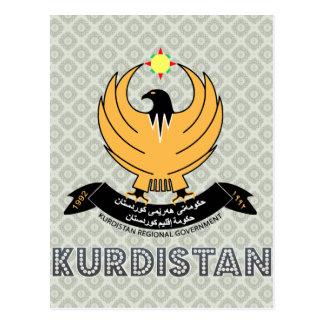 Kurdistan Coat of Arms Postcard