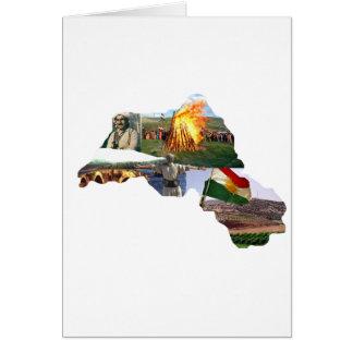 kurdistan culture greeting card