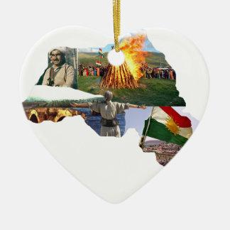 kurdistan culture ceramic ornament