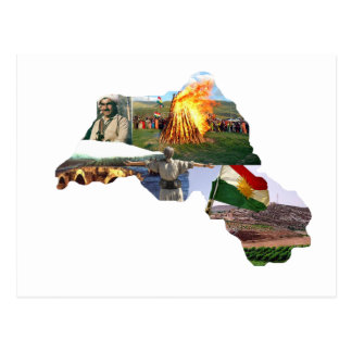 kurdistan culture postcard