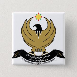 kurdistan emblem button