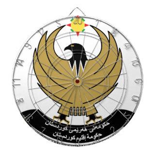 kurdistan emblem dartboards