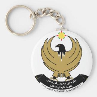 kurdistan emblem keychain