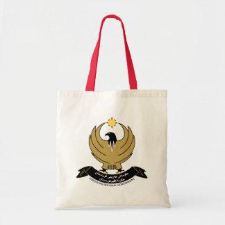 kurdistan emblem tote bag