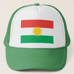 Kurdish Flag Hat