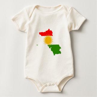 Kurdistan flag map creeper