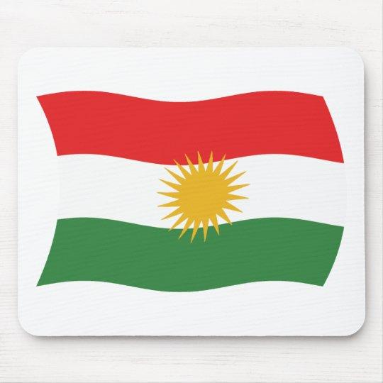 Kurdistan Flag Mousepad