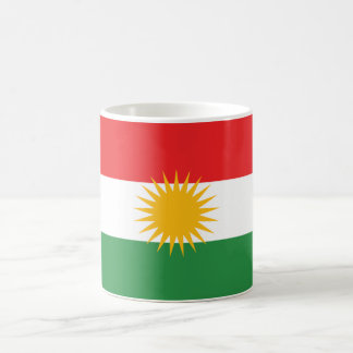 Kurdistan Flag Classic White Coffee Mug