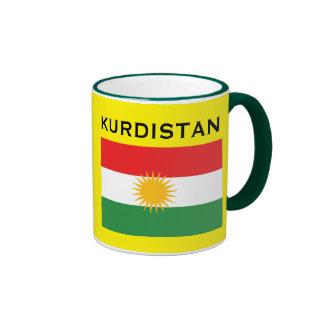 Kurdistan* Flag Mug Ringer Mug