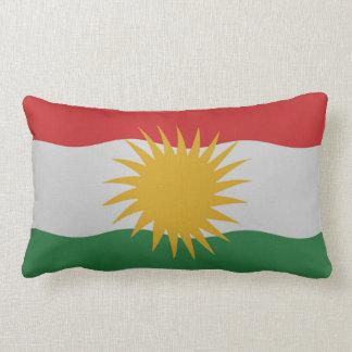 Kurdistan flag pillow