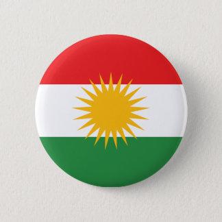 Kurdistan Flag Pinback Button